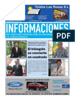 periódico informaciones SEGUNDA QUINCENA DE SEPTIEMBRE