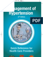 Qr Management of Hypertension (3rd Edition)