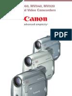 Canon mv 900