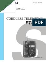 Telefone Toshiba FT- 8259