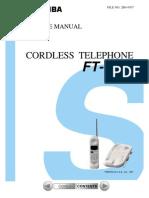 Telefone+Toshiba+FT 7807