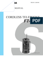 Telefone+Toshiba+FT 8009