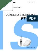 Telefone+Toshiba+FT 8808