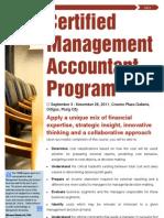 CMA2011 Catalog