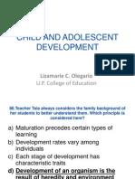 Child and Adolescent Development (Revised) (1)