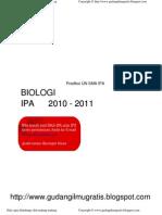 Latihan UN 2011 IPA Biologi