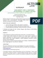 Workshop Conciliazione Legge 53