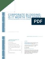 Corporate Blogsurvey2005_Backbone Media