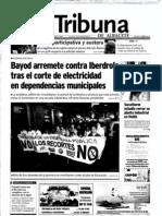 La Tribuna de Albacete. 21-9-11. 600 docentes respaldan las movilizaciones en Albacete