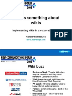 NCF05 Implementing Wikis