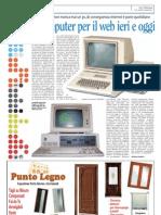 Il computer per il web ieri e oggi
