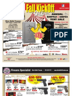 Silver Bullet Firearms Fall Kickoff Sale 2011