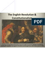 english revolution and constitutionalism