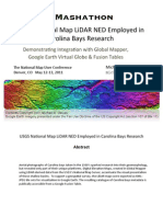 TNM LiDAR Elevation Data Employed in Carolina Bay Survey