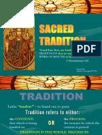 1 Sacred Tradition