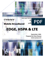 Study - Data Capabilities - Mobile Broadband - EDGE, HSPA and LTE