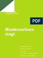Niedersachsen singt - Musikland Niedersachsen auf der chor.com