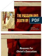 1. the Reasons for Christ's Execution