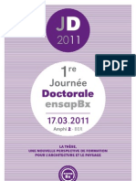 Broch Journee Doctorale 2011