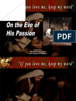 2. on the Eve of His Passion
