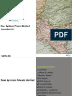 Zeus Systems Pvt. Ltd. - Company Profile