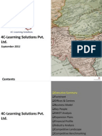 4C Learning Solutions Pvt. Ltd. - Company Profile