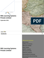 MSL Learning Systems Pvt. Ltd. - Company Profile