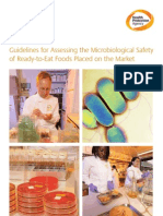 Guideline for Assessing Micro Safety of Rte Food