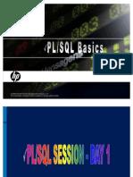 Pl SQL Basics
