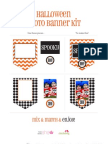 How Does She Halloween Banner Kit-1