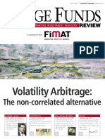 Volatility Arbitrage Special Issue