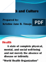 Health and Culture
