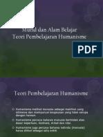 Teori Pembelajaran Humanisme