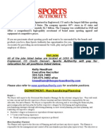 Sports Authority - Hot Jobs - Merch-PAR-PD-RE