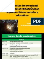 Symposium Abuso Psicologico