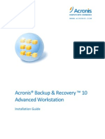 Acronis BR10AW Install Guide en-US