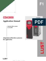 CDA 3000_Application Manual