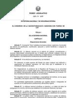 Ley1337-b de Defensa Nacional y de Seguridad Interna
