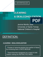 Clearing & Dealcoholization