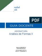 Análisis de Formas II