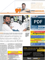 Materia Empreendedorismo Jornal Atarde 1