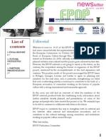 EPOP Newsletter #14-15