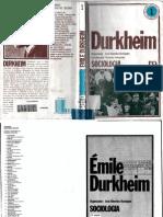 RODRIGUES, José Albertino (Org). Émile Durkheim - Sociologia
