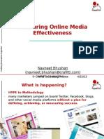 Meauring Social Media
