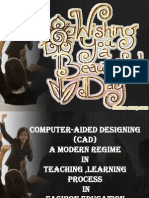 Cad-A Mordern Regime in Teaching Learning Process in Fashion Design