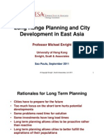 Long Range Planning and City Development in East Asia