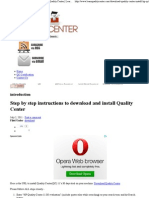 Step by Step Instructions to Download and Install Quality Center _ Learn Quality Center (QC)