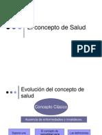 [SPI] El Concepto de Salud y Salud Pública
