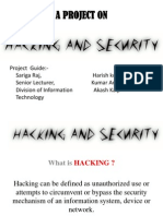 Hacking and Security Project Ppt