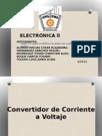 Convertidor Corriente - Voltaje